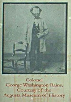 The Confederate States Powder Works, Colonel George Washington Rains image. Click for full size.