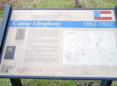 Camp Allegheny 1861-1862 Marker image. Click for full size.