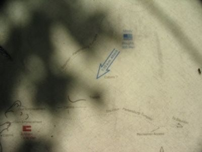 Close Up of the Right Side of Map image. Click for full size.