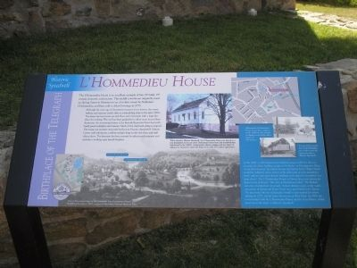 L'Hommedieu House Marker image. Click for full size.