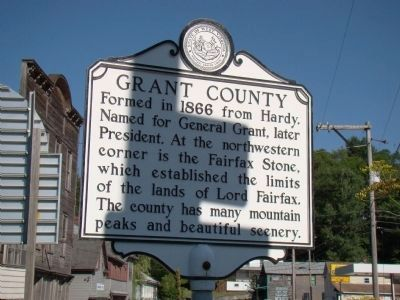 Grant County Face of Marker image. Click for full size.