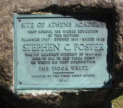 Site of Athens Academy Marker image. Click for full size.
