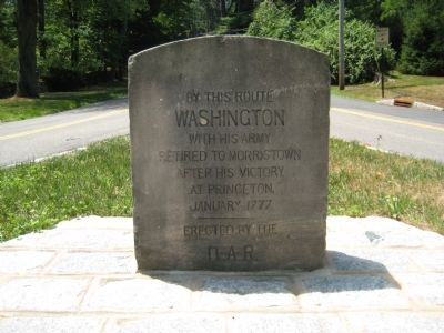 Washington Victory Route Marker image. Click for full size.