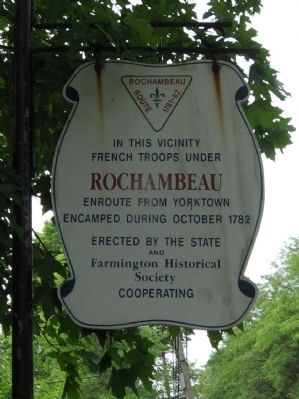 Rochambeau Route 1781-82 Marker image. Click for full size.
