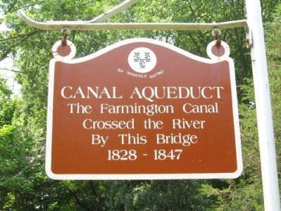 Canal Aqueduct Marker image. Click for full size.
