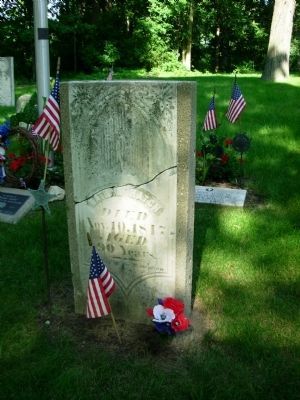 Nathan Hatch Grave Marker image. Click for full size.