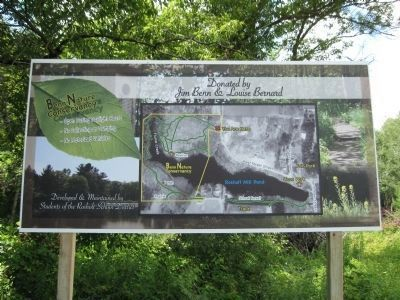 Benn Nature Conservancy Sign image. Click for full size.