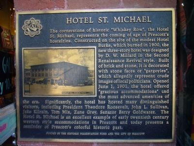 Hotel St. Michael Marker image. Click for full size.