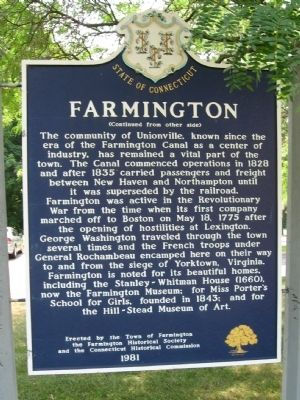 Farmington Marker image. Click for full size.