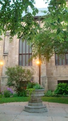Grace Episcopal Church Courtyard image. Click for full size.