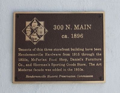 300 N. Main Marker image. Click for full size.