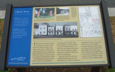 Liberty Town Marker image. Click for full size.