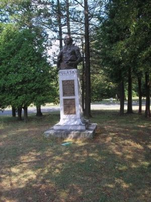Marker in East Side Park image. Click for full size.
