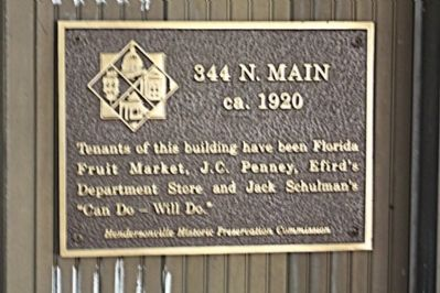 344 N. Main Marker image. Click for full size.