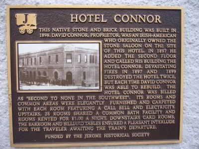 Hotel Connor Marker image. Click for full size.