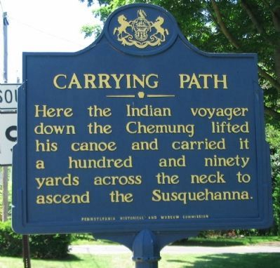 Carrying Path Marker image. Click for full size.