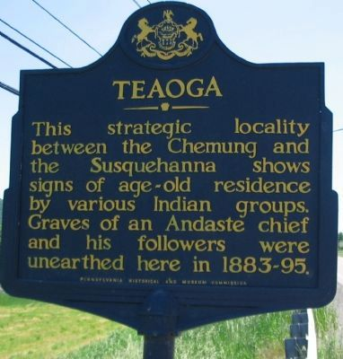 Teaoga Marker image. Click for full size.