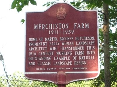 Merchiston Farm Marker image. Click for full size.