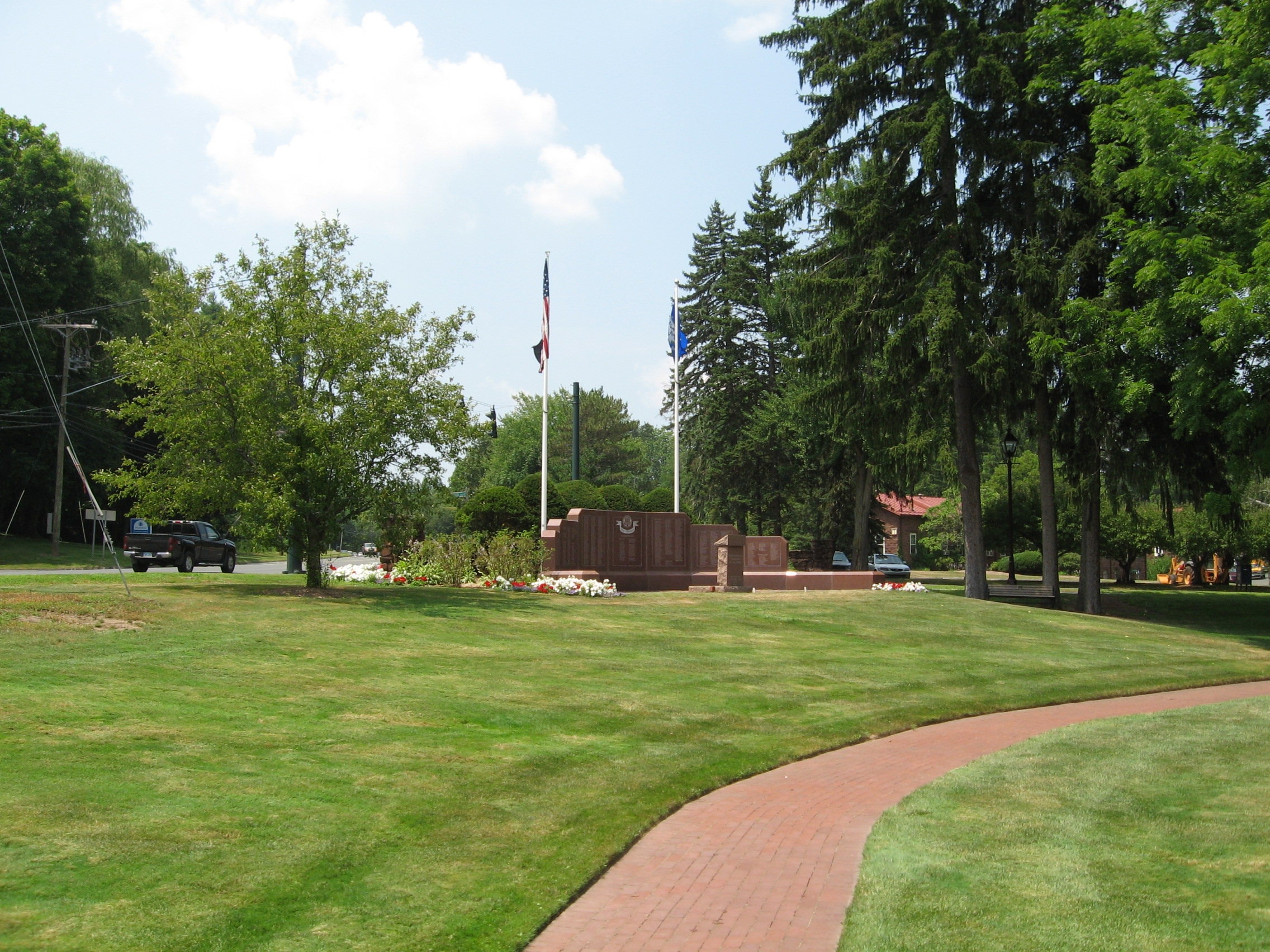 Avon Veterans Monument