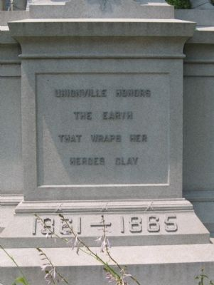 Unionville Civil War Monument image. Click for full size.