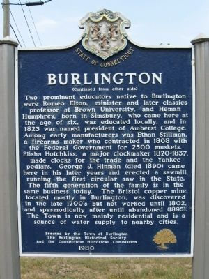 Burlington Marker image. Click for full size.