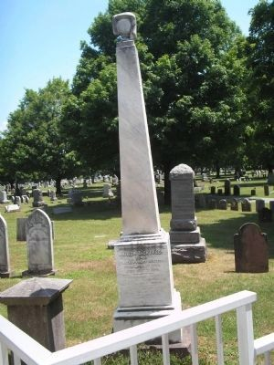 Grave of Governor Mahlon Dickerson image. Click for full size.