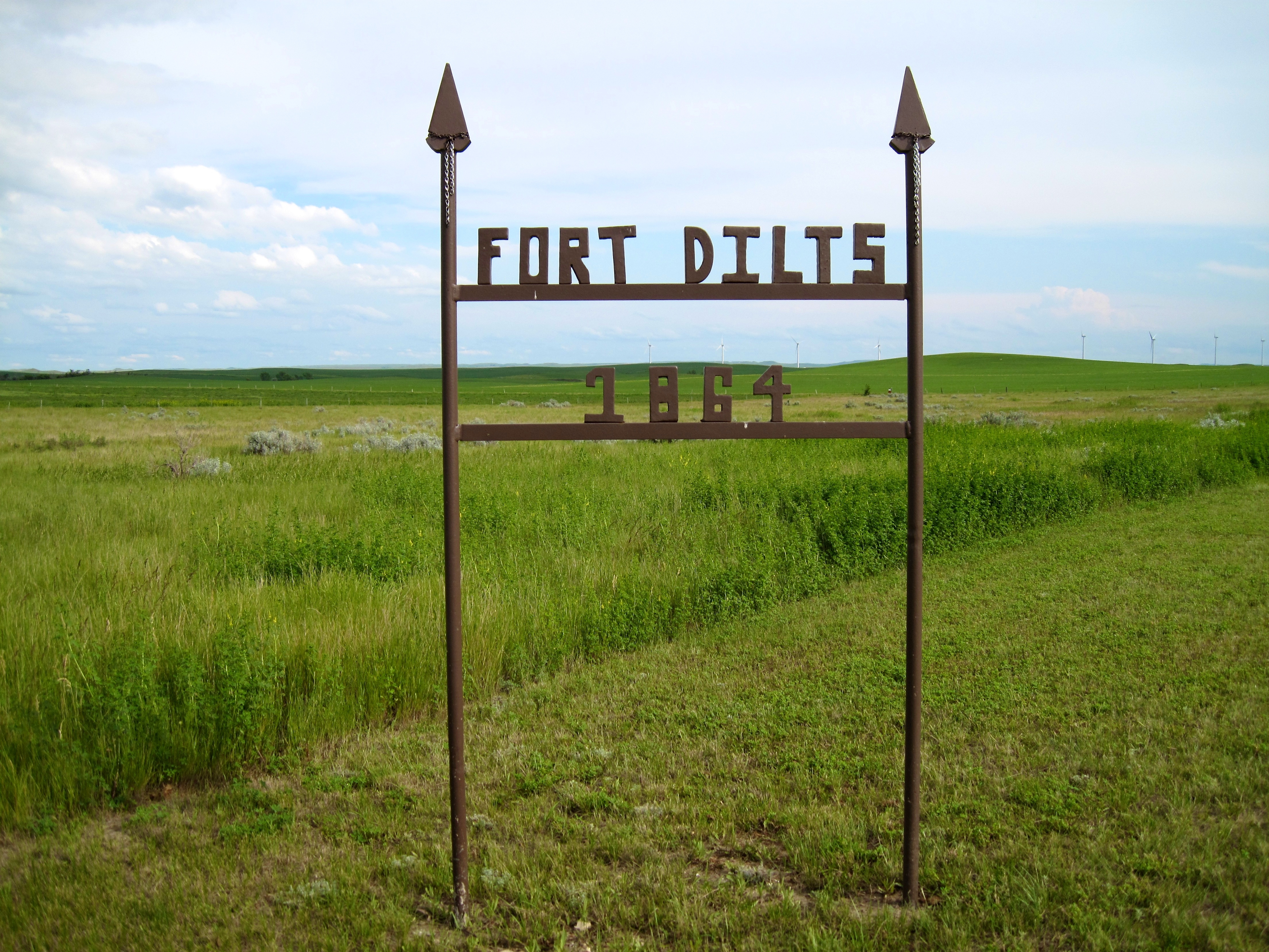 Entrance to Fort Dilts