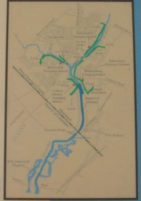 Map Showing Flood Control Measures image, Touch for more information