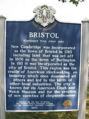 Bristol Marker image. Click for full size.