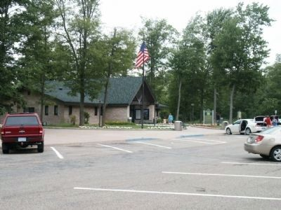 Grayling Rest Area and The Return of Kirtland's Warbler Marker image. Click for full size.