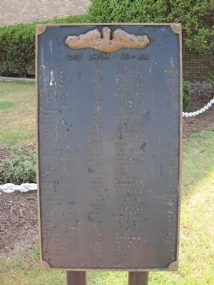 USS <i>Shark</i> Memorial image. Click for full size.