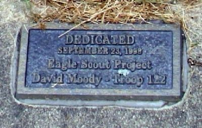 Small Dedication Plaque image. Click for full size.