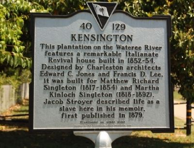 Kensington Marker image. Click for full size.