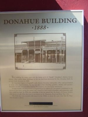Donahue Building Marker image. Click for full size.