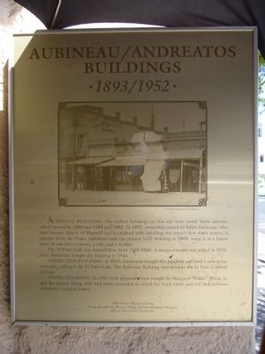 Aubineau / Andreatos Building Marker image. Click for full size.