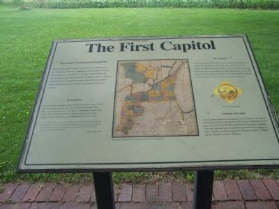 The First Capitol Marker image. Click for full size.