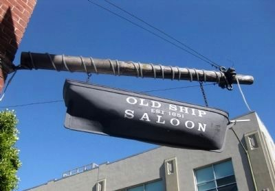 Old Ship Saloon - Est. 1851 image. Click for full size.