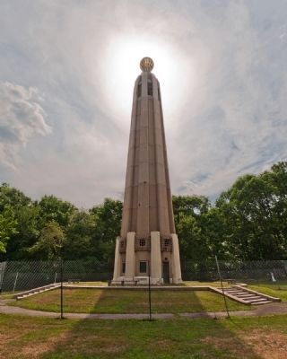Thomas Alva Edison Memorial Tower image. Click for full size.