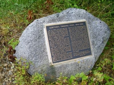 Full View - - Lorton's Trading Post Marker image. Click for full size.