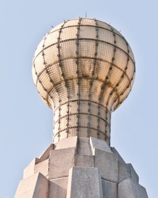 Thomas Alva Edison Memorial Tower Electric Lamp image. Click for full size.