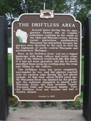 The Driftless Area Marker image. Click for full size.