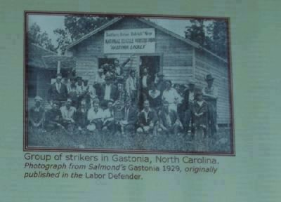 Group of Strikers in Gastonia, North Carolina image. Click for full size.
