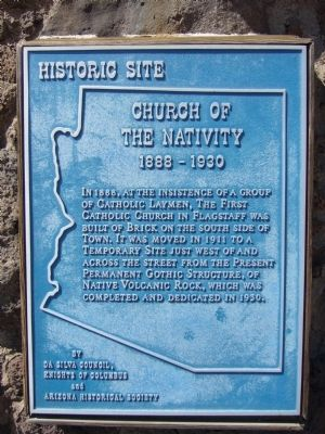 Church of the Nativity Marker image. Click for full size.