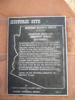 Methodist Episcopal Church Marker image. Click for full size.