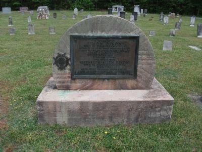 Grave of Simon Dixon - at Cane Creek Friends Meeting, Snow Camp, North Carolina image. Click for full size.