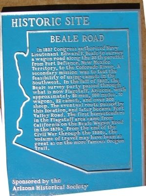 Beale Road Marker image. Click for full size.