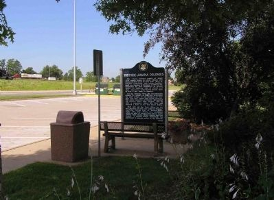 Wide view of the Historic Amana Colonies Marker image. Click for full size.