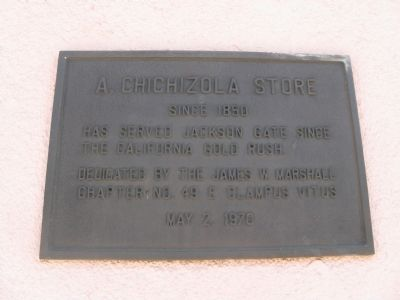 A. Chichizola Store Marker image. Click for full size.