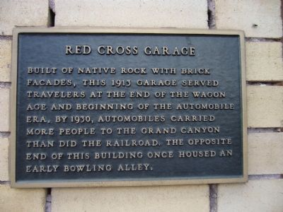 Red Cross Garage Marker image. Click for full size.