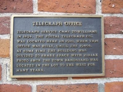 Telegraph Office Marker image. Click for full size.